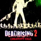 DEAD RISING 2 Original Game Poster * Creativity Kills * HUGE 4' x 6' Rare 2010 Mint