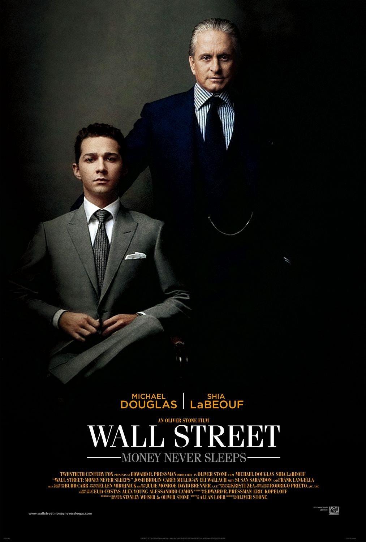 "WALL STREET : Money Never Sleeps Original Movie Poster 27"" x 40"" Rare 2010 Mint"