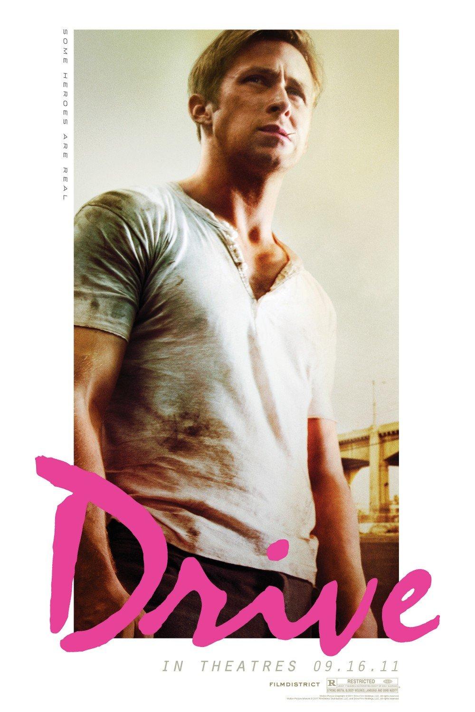 DRIVE Original Movie Poster * Ryan Gosling * HUGE 4' x 6' Rare 2011 Mint