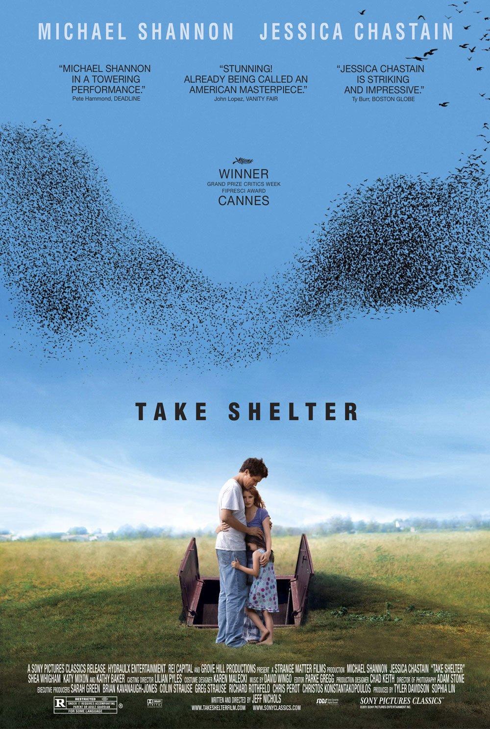 "TAKE SHELTER Original Movie Poster * Michael Shannon * 27"" x 40"" Rare 2011 Mint"