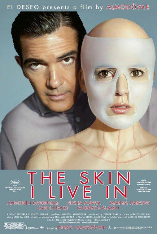 "Almodóvar's THE SKIN I LIVE IN Original Movie Poster * Antonio Banderas * 27"" x 40"" Rare 2011 Mint"