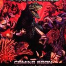 GODZILLA UNLEASHED Original Game Poster 2' x 3' Rare 2007 Mint