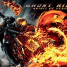 Ghost Rider 2 SPIRIT OF VENGEANCE Original Movie Poster * Nicolas Cage * HUGE 4' x 5' Rare 2012 Mint
