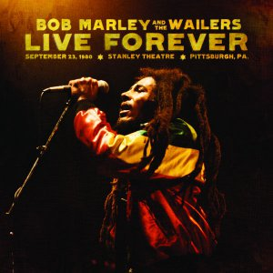 Bob Marley and the Wailers Original Music Poster * LIVE FOREVER * 2' x 3' Rare 2011 Mint