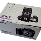 Canon EOS 7D * Retail BOX ONLY * Mint New Condition