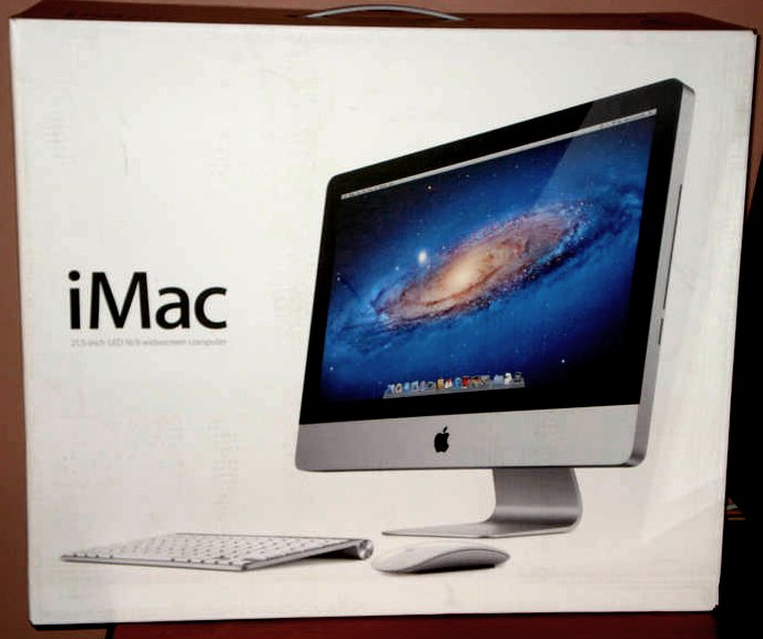 """Apple iMac 21.5"""" inch  * Retail BOX ONLY * NEW"""