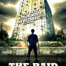 "The Raid : Redemption ( Serbuan Maut ) Original Movie Poster  27"" x 40"" Rare 2012 Mint"