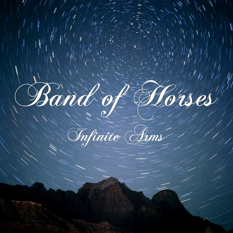 "Band of Horses * INFINITE ARMS * Original Music Poster 14"" x 22"" Rare 2010 Mint"