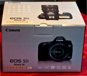 Canon EOS 5D Mark III * Retail BOX ONLY * Mint New Condition