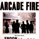 "ARCADE FIRE Original Concert Poster * Madison Square Garden NYC *14"" x 22"" Rare 2010 Mint"