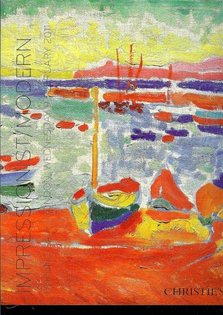 Impressionist Modern Art * Christie's * Feb 9th 2011 Mint