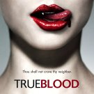 TRUE BLOOD Original Series Poster * ANNA PAQUIN * HBO 2' x 4' Rare 2008 Mint