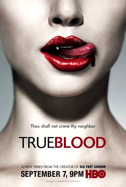 TRUE BLOOD Original Series Poster * ANNA PAQUIN * Huge 4' x 6' Rare 2008 Mint