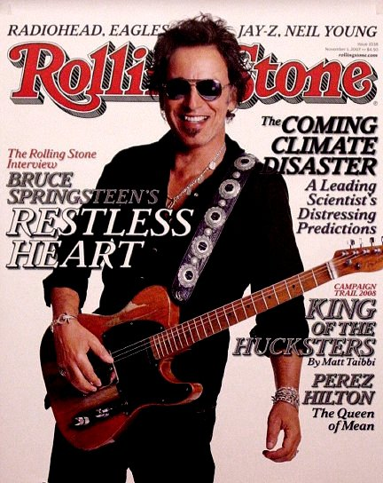 Bruce Springsteen * MAGIC * Original Music Poster 2' x 3' Rolling Stone COVER Rare 2007 Mint