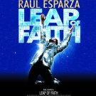 "LEAP OF FAITH Original Broadway Theater Poster * Raúl Esparza * 14"" x 22"" Rare 2012 Mint"
