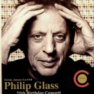 "Philip Glass Carnegie Hall Original Concert Poster * 75th Birthday * 14"" x 22"" Rare 2012 Mint"