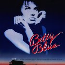 "BETTY BLUE Original Movie Poster * Béatrice Dalle * 27"" x 40"" Rare 1986 Mint"