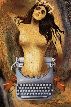 My Secret Garden Original Off-Broadway Poster * NANCY FRIDAY * 2' x 3' Rare 2007 Mint