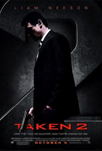 "TAKEN 2 Original Movie Poster * LIAM NEESON *  27"" x 40"" DS Rare 2012 Mint"