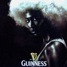 GUINNESS Girl * FORTUNE FAVORS THE BOLD * Bus Shelter Poster HUGE 4' x 6' New 2010
