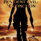 Resident Evil EXTINCTION Original Movie Poster * MILLA JOVOVICH * 4' x 6' Rare 2007 Mint