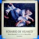 Rosario de Velasco * Adam and Eve * Framed Original Art Poster Mint