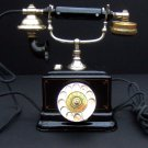 LM Ericsson Antique Deco Rotary Desk Telephone 1921 Restored Working Like New