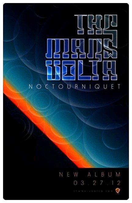 MARS VOLTA * Noctourniquet * Original Music Poster 2' x 3' Rare 2012 Mint