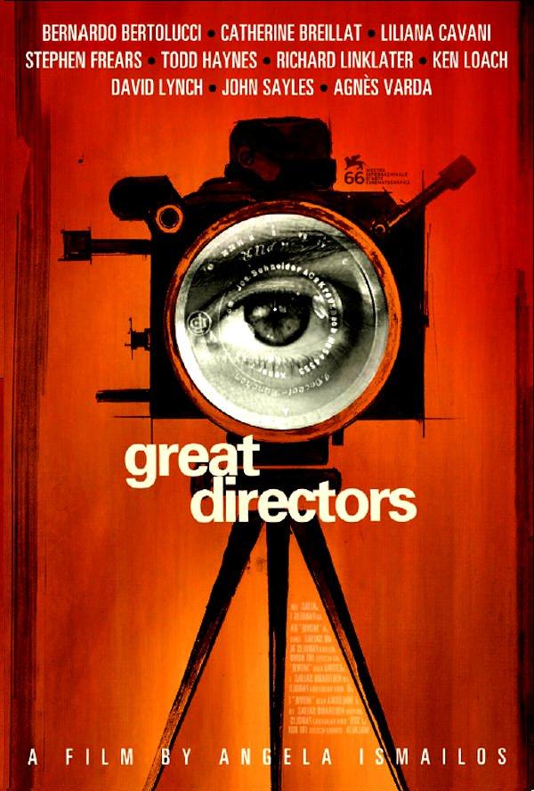 "Angela Ismailos's * GREAT DIRECTORS * Movie Poster * DAVID LYNCH * 27"" x 40"" Rare 2010 NEW"