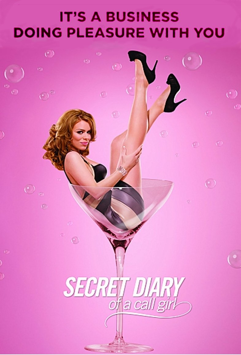 SECRET DIARY OF A CALL GIRL Poster * BILLIE PIPER * Showtime 2' x 3' Rare 2008 Mint