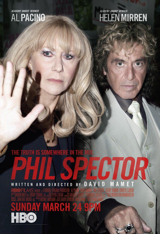 "Phil Spector Original Movie Poster HBO 27""'x 40"" Rare 2013 Mint"