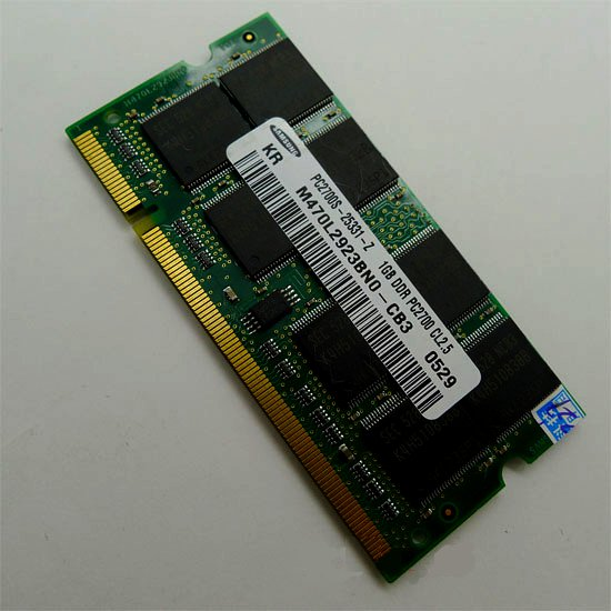 1GB DDR PC2700 333 MHZ Laptop RAM for Apple G4