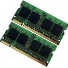 2gb (2x1gb) PC2 5300 DDR2 667 SODIMM Laptop RAM for Macbook Pro Lenovo F41 y410 3000 Mint
