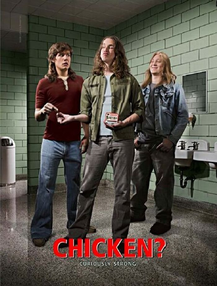 "ALTOIDS Original AD Poster * Chicken ? * 27"" x 40"" Rare 2007 Mint"