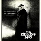 "The Elephant Man Original Movie Poster * JOHN HURT * 27"" x 40"" Rare 1980 Mint"