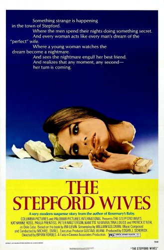 """THE STEPFORD WIVES Original Movie Poster * Katharine Ross * 27"""" x 40"""" Rare 1975 Mint"""