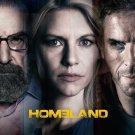 """HOMELAND Original Poster * Claire Danes * Showtime 27""""'x 40"""" Rare 2013 Mint"""