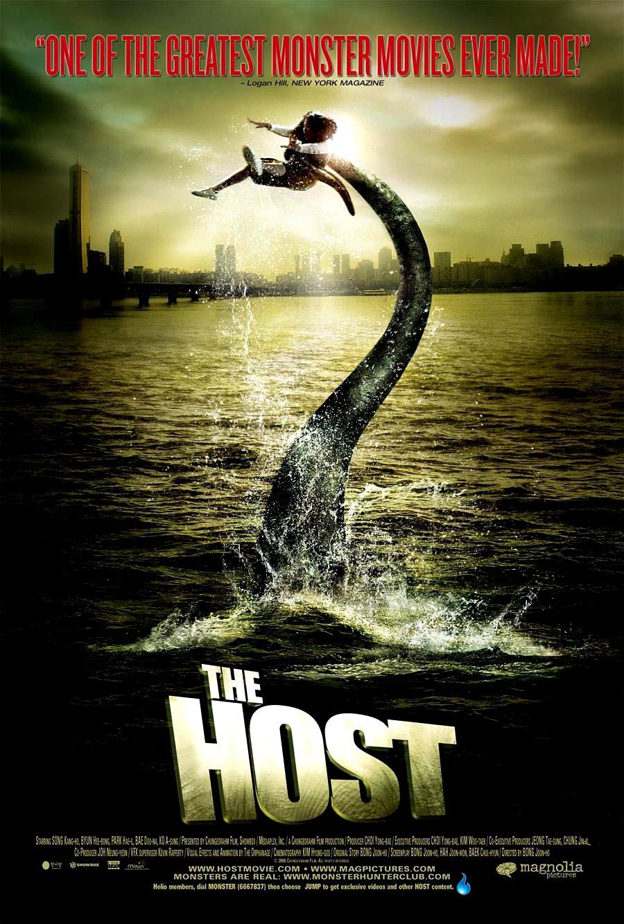 "THE HOST Original Movie Poster * SCOTT WILSON * 11"" x 17"" Rare 2007 Mint"