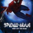 "SPIDERMAN: TURN OFF THE DARK Original Advance Broadway Theater Poster 14"" x 22"" Very Rare 2011 Mint"