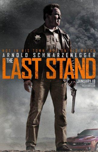 THE LAST STAND Original Movie Poster * Arnold Schwarzenegger *  2' x 3' DS Rare 2013 Mint