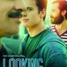 "LOOKING Original Poster * Jonathan Groff * HBO 27""'x 40"" Rare 2014 Mint"