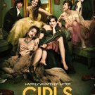 "GIRLS Original Poster * Lena Dunham * HBO 27""'x 40"" Rare 2014 Mint"