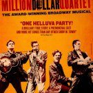 "Million Dollar Quartet Original Broadway Theater Poster 14"" x 22"" Rare 2011 Mint"