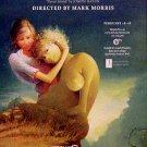 "Mark Morris * L'isola disabitata (Desert Island) * Opera Poster 14"" x 22"" Rare 2009 MINT"