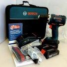 "Bosch DDS182-02 18V Li-Ion Cordless 1/2"" Drill/Driver Kit BRAND NEW"