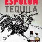 """Tequila ESPOLON Original AD Poster 27"""" x 40"""" Rare 2010 Mint"""