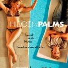 HIDDEN PALMS Original Poster * Amber Heard & Taylor Handley * HUGE 4' x 6' Rare 2007 Mint