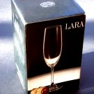 Champagne Flutes Bohemia Crystal Wine Glass SET(4-8oz)LARA New in Box