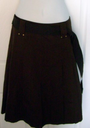 Size 14 Brown  Jones New York Skirt With Tags.