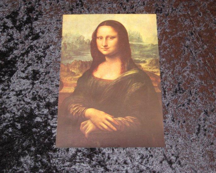 Leonardo Da Vinci, Vintage Print, actually printed in 1912
